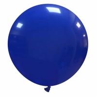 "32"" Dark Blue Latex Balloon 1ct"