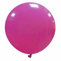 """32"""" Fuchsia Latex Balloon 1ct"""