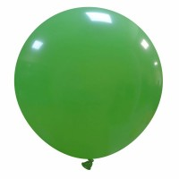 "32"" Green Latex Balloon 1ct"
