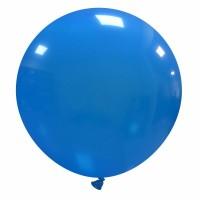 "32"" Light Blue Latex Balloon 1ct"