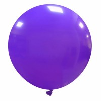"32"" Purple Latex Balloon 1ct"