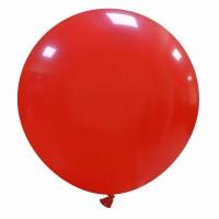 """32"""" Dark Red Latex Balloon 1ct"""