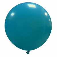 "32"" Turquoise Latex Balloon 1ct"
