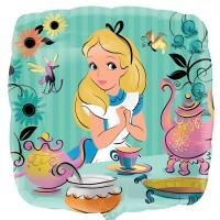 "Alice in Wonderland 18"" Foil Balloon"