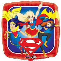 "Super Hero Girls Group 18"" Foil Balloon"