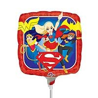 "Super Hero Girls Group 9"" - Inflated With Cup & Stick"