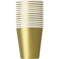 Gold 9 OZ Cups 14 CT.