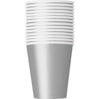 Silver 9 OZ. Cups - 14 CT.