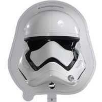 Star Wars Storm Trooper Street Treat Shape - Large Helium Foil Balloon