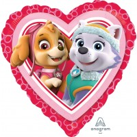 """Skye and Everest Paw Patrol 18"""" Foil Balloon"""