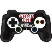 """Game Controller Birthday 36"""" Foil Balloon"""