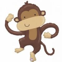 """Dancing Monkey 40"""" Supershape"""