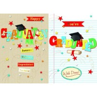 Happy Graduation Day - Pack Of 12
