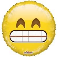 "Smiley Teeth Character - 18"" Foil Balloon"