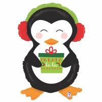 "Happy Penguin 34"" Foil Balloon"