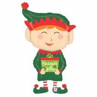 "Jolly Elf 43"" Foil Balloon"