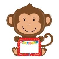 "Remarkable Monkey 43"" Foil Balloon"