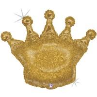 "Glittering Crown 36"" SuperShape"