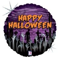 """Zombie Halloween 18"""" Foil Balloon"""