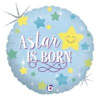 "A Star is Born Boy 18"" Foil Balloon"