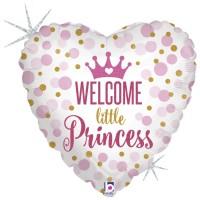 "Welcome Little Princess 18"" Foil Balloon"