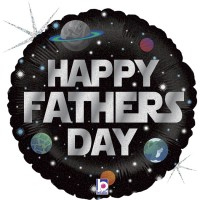 """Galactic Fathers Day 18"""" Foil Balloon"""