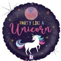 "Unicorn Party 18"" Foil Balloon"