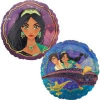 "Aladdin Reverse 18"" Foil Balloon"