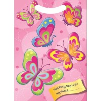 Butterfly Party Loot Bag 6ct