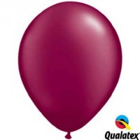 "11"" Burgundy - Pearlised (Bag of 25)"