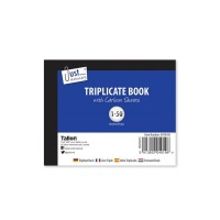 Triplicate Books Half Size - Box Of 12
