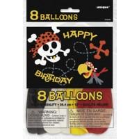 12'' Birthday Balloons Printed 1 Side
