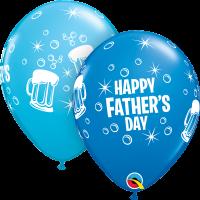 "11"" Father's Day Beer Mug - 25ct Latex Balloons"