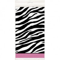 Zebra Passion Tablecover - 54 x 84 inch