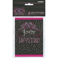Zebra Passion Invitations 8CT.