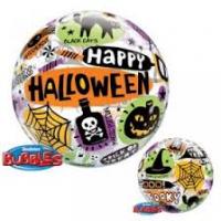 """Happy Halloween Funky Single 22"""" Bubble"""