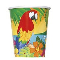9oz. Cup - Tropical Island Luau - 8ct. 12pk.