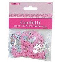 Communion Foil Confetti Pink 0.5oz - Radiant Cross