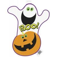 """Pumpkin BOO Cutout 16 1/2""""H"""