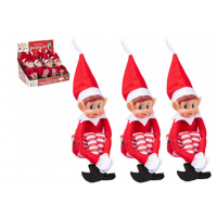 "12"" Red Elf Box Of 12"