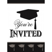 Simply Grad Invitations 8ct