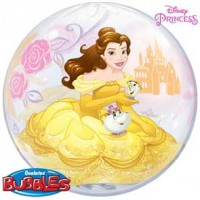 "Disney Princess Belle 22"" Single Bubble"