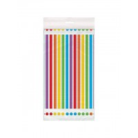 Rainbow Birthday Plastic Tablecover