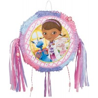 Doc McStuffins Drum Pull Pop-Out Piñata