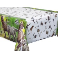 Jurassic World Plastic Tablecover 54'' x 84''