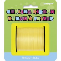 Yellow Curling Ribbon - 100yds
