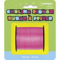 Hot Pink Curling Ribbon - 100yds