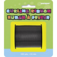 Black Curling Ribbon - 100yds