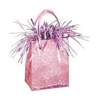 Giftbag Weight - Pastel Pink Prism - (Box of 6)
