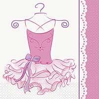 Luncheon Napkins - Pink Ballerina - 16ct.